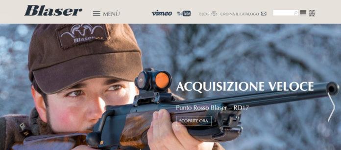 sito di blaser in italiano