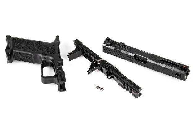 smontata, la pistola modualre zev technologies