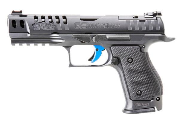 vista standard della pistola Walter Q5 Match Steel Frame