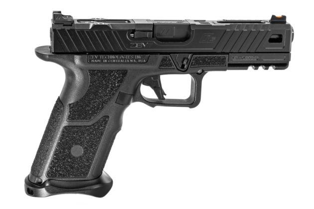 zev technologies oz-9, ossia pistola modulare, vista da destra