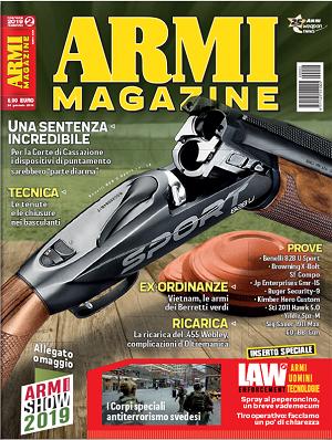 Copertina ArmiMagazine febbraio 2019