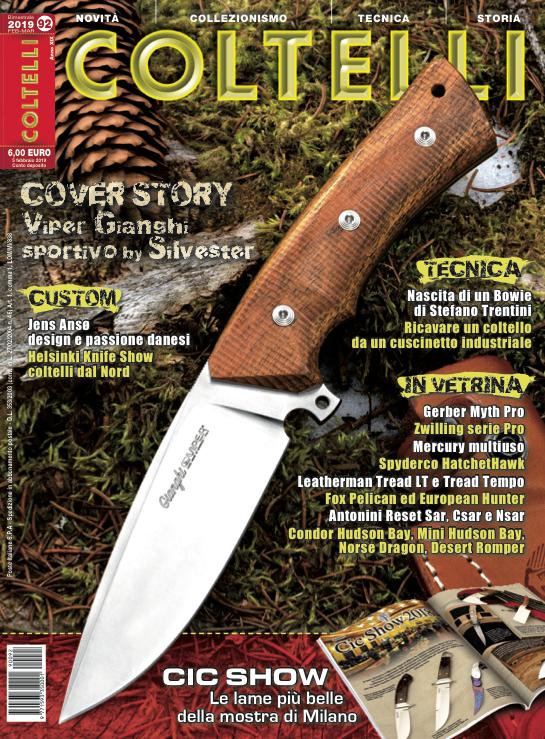 È in edicola il numero 92 di Coltelli - Armi Magazine