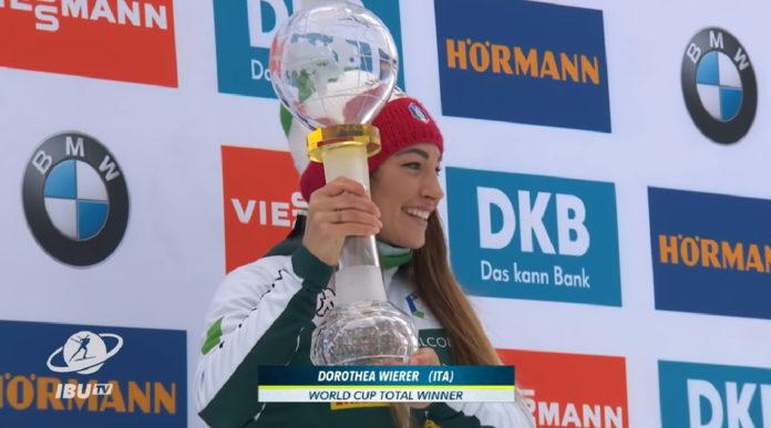Dorothea Wierer oro nel campionato del mondo di biathlon