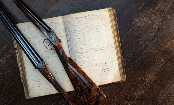 fucile a canna liscia Rigby Rising Bite su registro