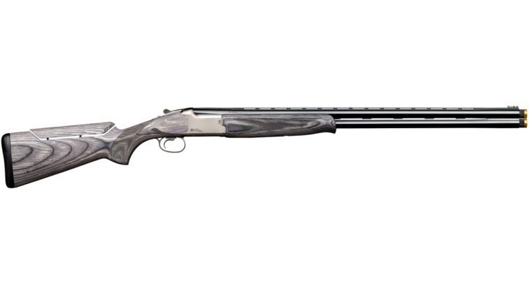 fucile sovrapposto da tiro Browning B525 Sporter Laminated Adjustable fianco destro