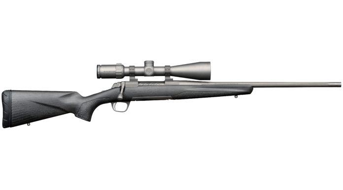 vista destra della carabina bolt action Browning X-Bolt Pro Carbon