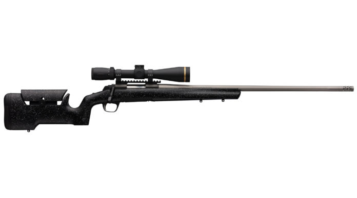 Browning X-Bolt Max Long Range, la carabina per il tiro a lunga distanza