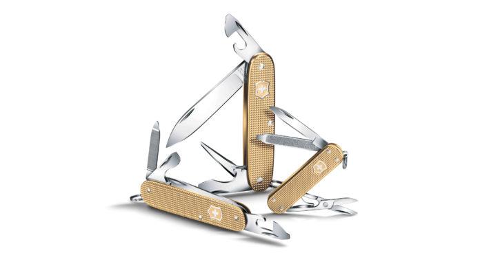 coltello multiuso kunzi victorinox alox champagne