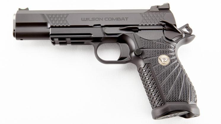 lato sinistro della pistola Wilson Combat EDC X9L