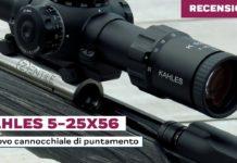 K525i, il test del cannocchiale sportivo di Kahles