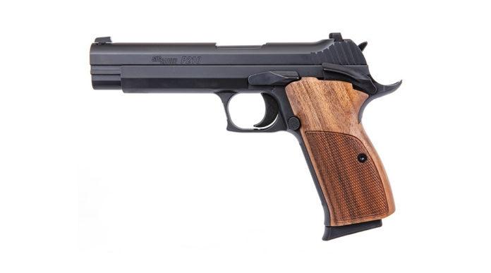 pistola classica sig sauer p210 standard