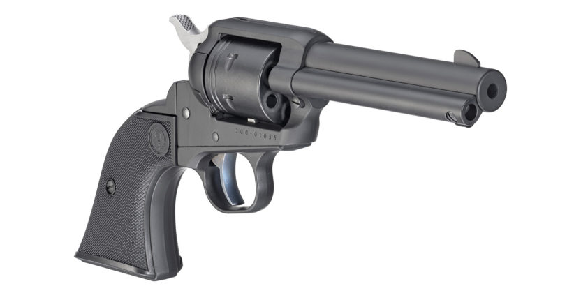 revolver ruger wrangler black