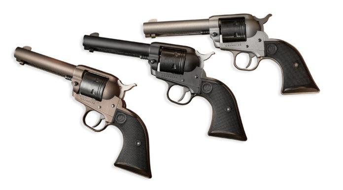 ruger wrangler tre revolver ad azione singola