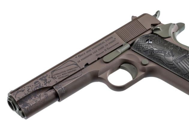 canna della pistola auto ordnance the general 1911