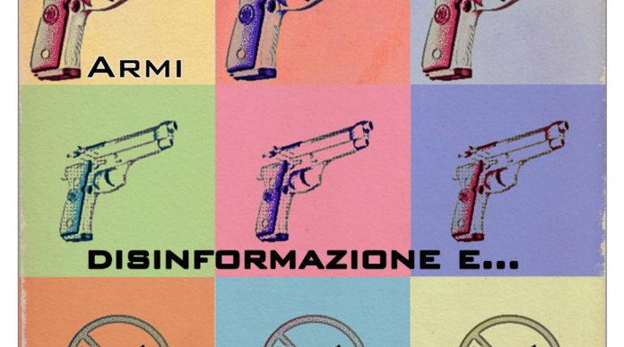 copertina libro sulle armi francesco volta armi, disinformazione e mass media