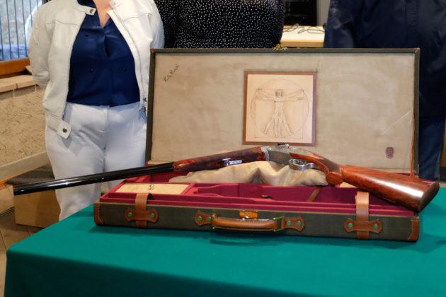 fucili commemorativi beretta dedicati a Leonardo da Vinci
