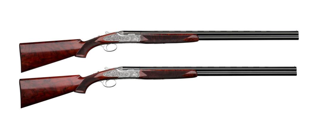la coppia di fucili da collezione Beretta dedicati a Leonardo da Vinci