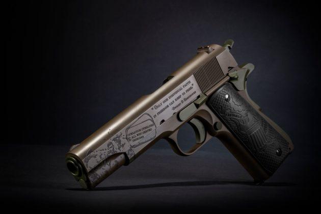 lato sinistro della pistola auto ordnance the general 1911