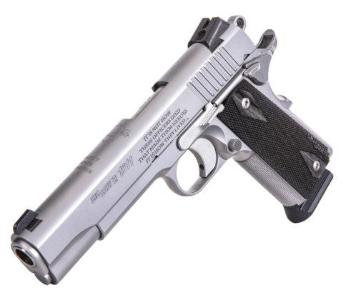 pistola commemorativa sig sauer nleomf 1911 stainless