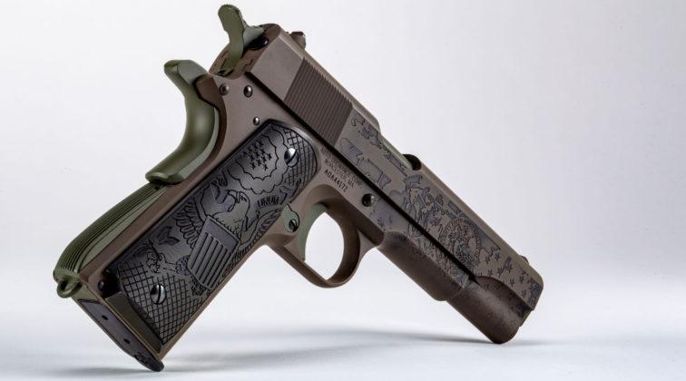 pistola da collezione auto ordnance the general 1911 sbarco in normandia