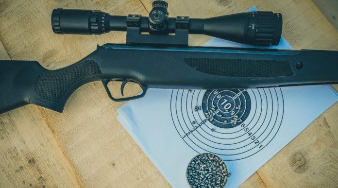 poligono per armi ad aria compressa