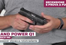Grand Power Q1 calibro 9x21, la prova a fuoco