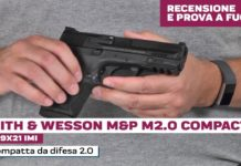 Smith & Wesson M&P9 M2.0 Compact, la prova a fuoco