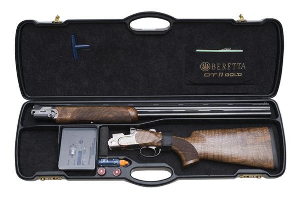 valigetta abs del fucile da collezione beretta dt11 gold