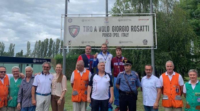 Antonino Barillà campione italiano di double trap