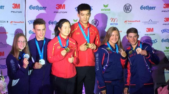 Coppa del mondo di tiro junior, il medagliere dell'Italia