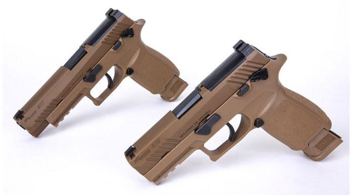 pistole sig sauer M17 e M18