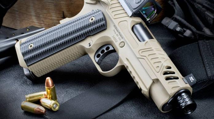 pistola in edizione limitata EB ZEV 2019 modello flat dark earth