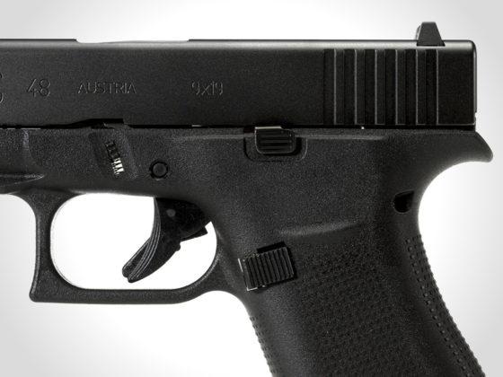 carrello, grilletto e fusto delle glock g43x e g48 black