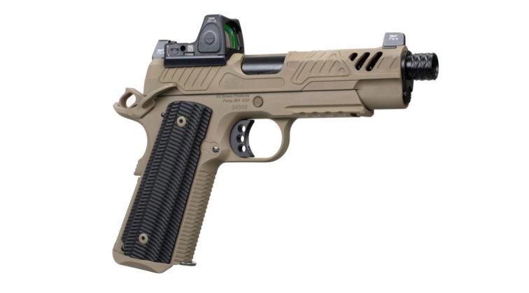 fianco destro della pistola EB ZEV 2019