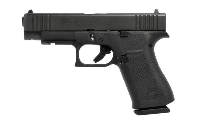 fianco sinistro della pistola lock g48