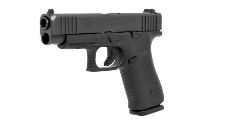 immagine di tre quarti della glock g48
