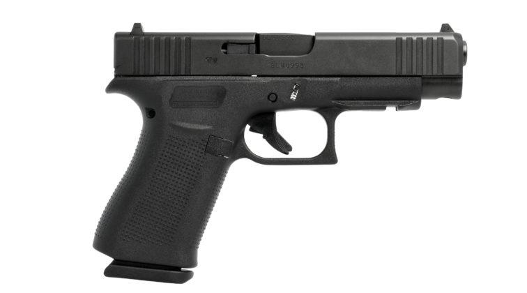 lato destro della pistola glock g48