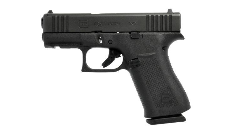 lato sinistro della pistola glock g43x black