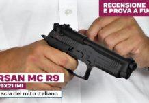 Girsan Mc R9 cal. 9x21, la prova a fuoco