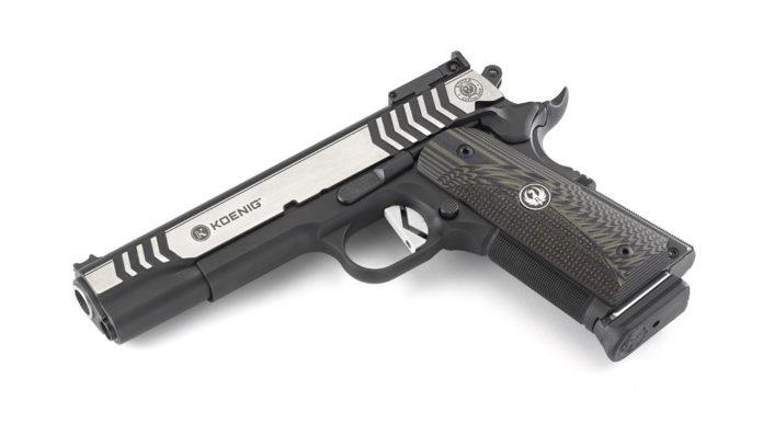pistola da competizione Ruger Custom Shop SR1911 Competition .45 ACP