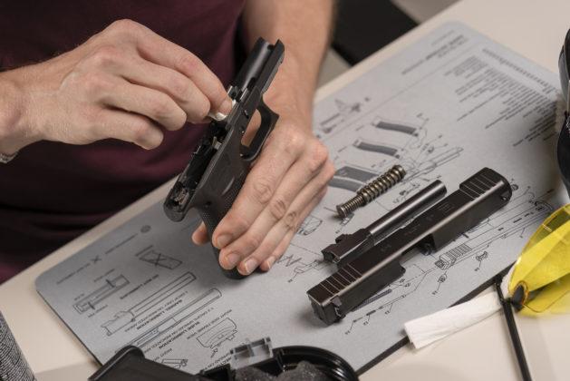 pulizia della pistola g48