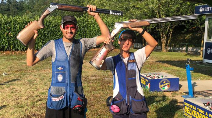 Leonardo Franceschini e Giulia Pintor campioni italiani di trap mixed team 2019