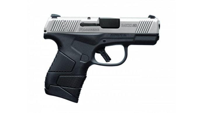pistola subcompatta bicolore Mossberg MC1sc Stainless Two-Tone