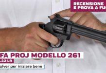 Alfa Proj Model 261 cal. .22LR, la prova a fuoco
