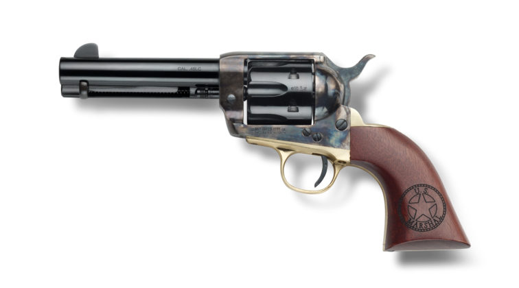 revolver ad azione singola pietta great western ii us marshall