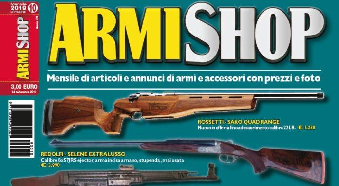 Armi Shop ottobre 2019