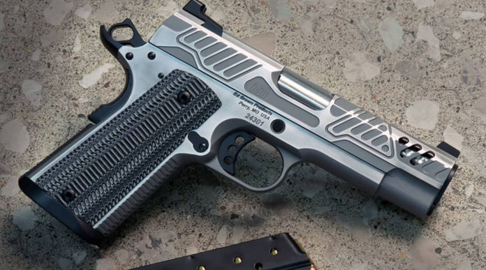 pistola 9 mm Ed Brown EB Zev Orion Industrial Stainless