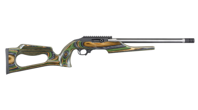 carabina sportiva Ruger 10/22 Competition green mountain thumbhole