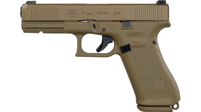 pistola Glock g17 gen5 arma d'ordinanza dell'esercito portoghese