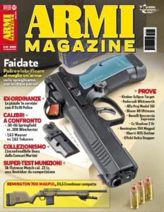 cover armi magazine Ottobre 2019